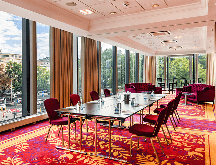 Sale konferencyjne w Marriott Warsaw Hotel