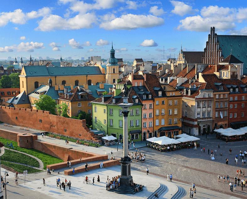 Ciesz się atrakcjami Warszawy i poznawaj je z nami