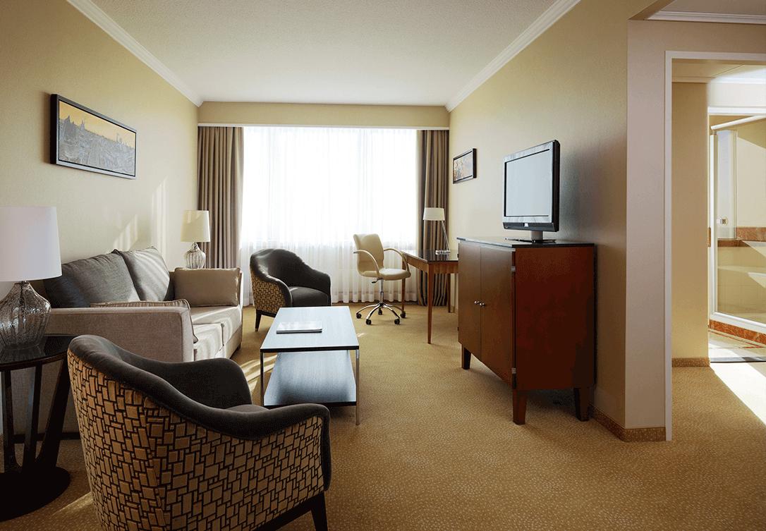 Business Suite w Marriott Warsaw Hotel